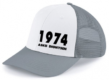 ASKÖ Dionysen Fan 6 Panel Snapback Trucker Cap - One Size
