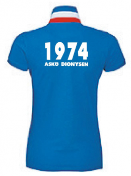 ASKÖ Dionysen Fan Women`s Polo Shirt Patriot - L01407